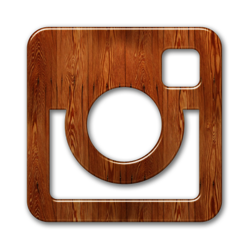 wood instagram icon